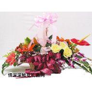 商务鲜花,流光溢彩