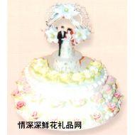 喜庆蛋糕,喜结良缘(16寸)