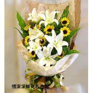 向日葵,简单爱