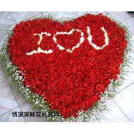 情人节鲜花,999枝玫瑰