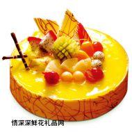水果蛋糕,【好利来】伊甸园之夏