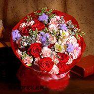 夫妻鲜花,百花齐放