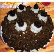 巧克力蛋糕,甜蜜生日