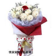生日鲜花,尽情地爱